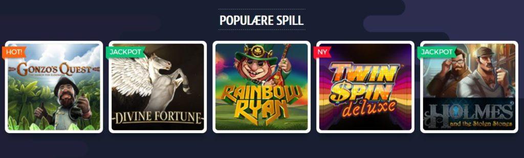 lucky8 casino spill populære