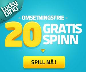 gratis casino free spins uten omsetningskrav