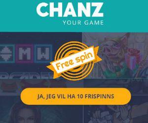 chanz free spins uten innskudd