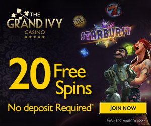 grand ivy free spins